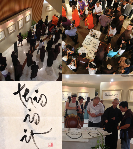 Thay's Calligraphy Show